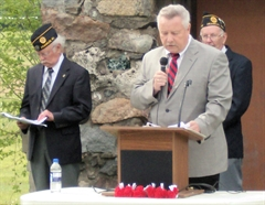 Mayor Tom Taylor at Veteran's Day Event
