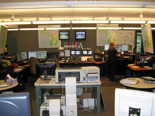 Communication Center, Franklin Police Department