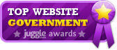 Top City Government Website Award from Juggle.com