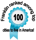 Franklin ranked among top 100 cities to live in America!